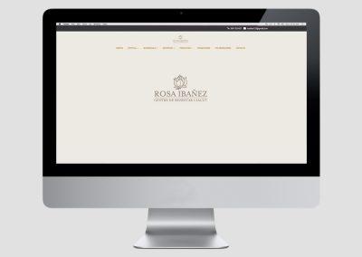 Web Rosa Ibañez
