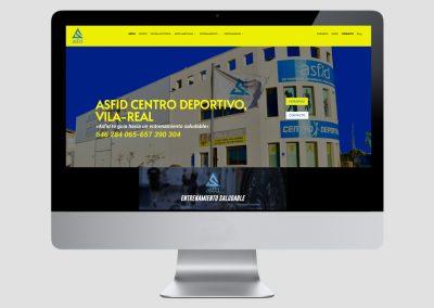 CENTRO DEPORTIVO ASFID