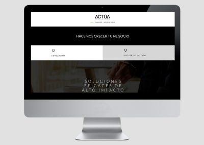Web Actúa Consultores